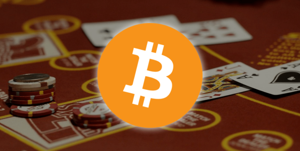 gamblling on bitcoina